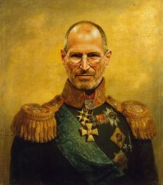Les Célébrités Sinvitent Dans Les Peintures Du ème Artsy - If celebrities were 19th century military generals they would look like this