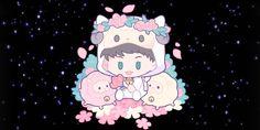 Lay Exo, Fan Art, Chibi, Minnie Mouse, Disney Characters, Fictional Characters, Entertaining, Cartoon, Star