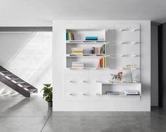 """Libreria modulare """"Dots"""" http://www.differentdesign.it/libreria-modulare-dots/ Una #libreria modulare dal #design moderno, che supera la struttura tradizionale per approdare ad un sistema flessibile ed #intercambiabile..."""