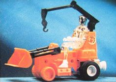 Micronauts Crater Cruncher. Mine came with an orange Time Traveler.