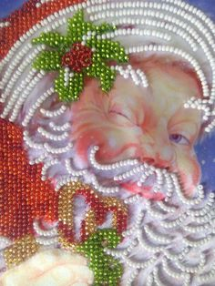 The picture is embroidered with Czech beads on Atlas. Without frame, it can be ordered optionally The size is 13cm (5) x 18cm (17)  EXPRESS SHIPPING