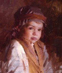 Morgan Weistling 1964 | American Romantic painter / illustrator  - He Was One of Us