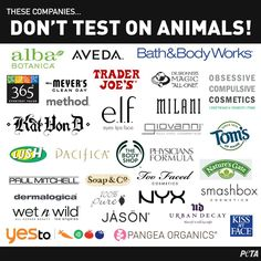 These cosmetics companies don't test on animals- they're 100 percent cruelty-free!