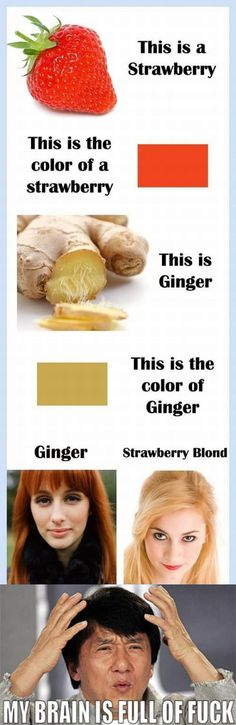 gingers have it hard