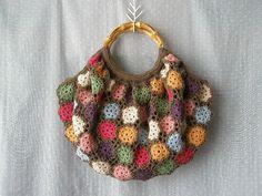 Crochet:  Rose Bag -- Japanese pattern.