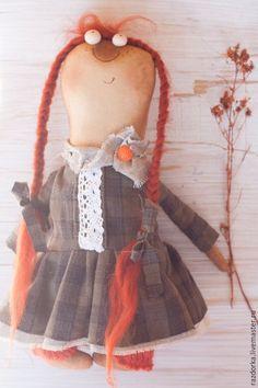 """Купить """"Рябинушка"""" Авторская кукла - болотный, авторская кукла, кукла ручной работы, кукла в подарок"""