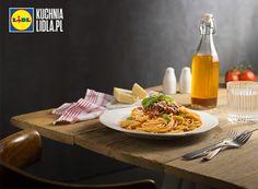 Spaghetti bolognese. Kuchnia Lidla - Lidl Polska. #terrazzino #spaghetti