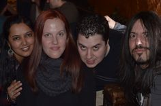 Here I am with Neeta, Viv, and Jason during the #miniNYChirl
