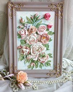 """Купить картина """"Рассвет розы"""" - бежевый, картина, картина на заказ, картина в подарок, картина с цветами"""