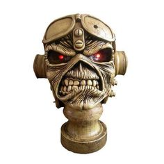 Iron Maiden Eddy Aces High Hand Crafted Bust Sculpture 10 inch tall Listing in…