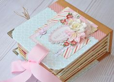 #baby #babygirl #babymine #newborn #first #year #momy #love #minialbum #mini #album #sweetie #sweet #scrapbook #scrapbooking #cartabella… Recipe Scrapbook, Baby Mine, Create A Family, Baby Album, Mini Albums, Scrapbooking, Gift Wrapping, Birthday, Sweet