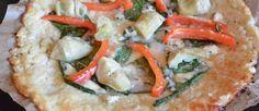 Pizza van Bloemkool