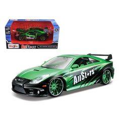 "Toyota Celica GT-S Green ""All Stars"" 1/24 Diecast Car Model by Maisto"