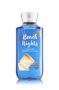 Beach Nights - Summer Marshmallow Shower Gel - Signature Collection - Bath & Body Works