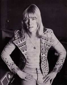 Brian Connolly of The Sweet