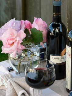 Wine and Roses by Flower Child.