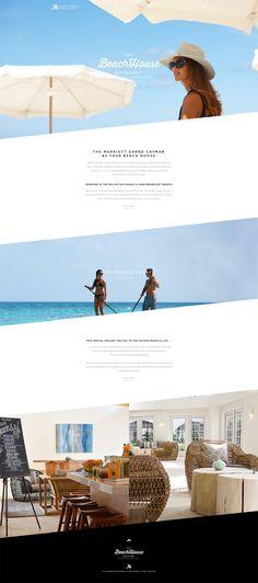 Marriott Resort Grand Cayman Hotel #website #web #hotel #webdesign #holiday
