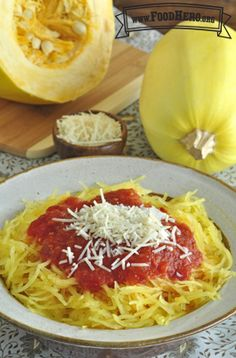 Spaghetti Squash | Food Hero - Healthy Recipes that are Fast, Fun and Inexpensive