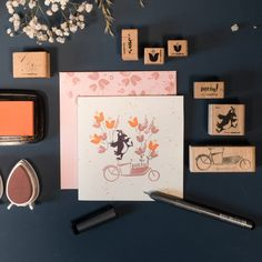 Karten Diy, Clear Stamps, Gallery Wall, Frame, Apple, Stamps, Wrapping, Cards, Invitation Cards