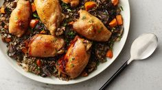 Slow-Cooker Chicken and Wild Rice