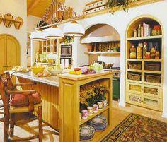Kitchen Decorating on Unique Design Interior Decorating Of Different Kitchen D  Cor