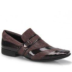 Sapato Social Masculino Calvest 1320B166 - Cafe Patent Shoes, Men's Shoes, Tenis Casual, Men's Footwear, Mens Fashion Shoes, Dress With Boots, Modern Man, Gq, Air Jordans