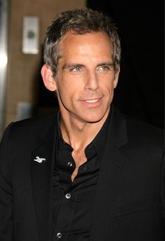 Ben Stiller - Long time secret celeb crush. He's just cool. He can pull the gray hair off wonderfully!