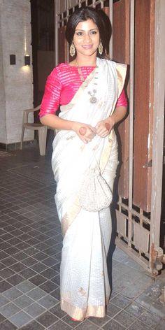 Konkona Sen Sharma at Soha Ali Khan, Kunal Khemu's wedding reception. #Bollywood #Fashion #Style #Beauty