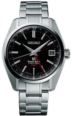 Grand Seiko Watch Mechanical Hi Beat GMT
