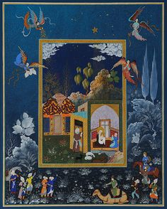 Welcome to the Website of Haydar Hatemi- Haydar Hatemi is one of the pioneers in new form of Ottoman Art and Persian Miniatures. He is also known as the Istanbul painter. Mughal Miniature Paintings, Mughal Paintings, Islamic Paintings, Collages, Middle Eastern Art, Medieval Paintings, Iranian Art, Turkish Art, Islamic Art Calligraphy