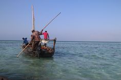 Go fishing with the local fishermen. The prices vary from 40 to 90 euros depending on the length of the trip and style of the boat. Ask Aisha to hook you up with the organizers. #Tanzania #Zanzibar #fishing #livelikealocal