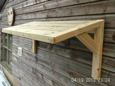Timber Front Door Canopy Porch Bespoke Hand Made Porch Light Weight