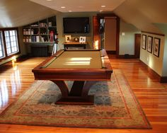 Remodel decor and ideas page 9 attic pool table more attic pool