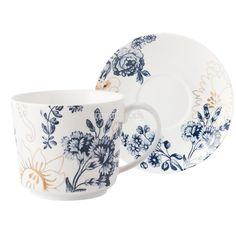 Victoria And Albert Palmers Silk Tea Cup And Saucer | Afternoon Tea | Themes | Lookbooks | Creative Tops