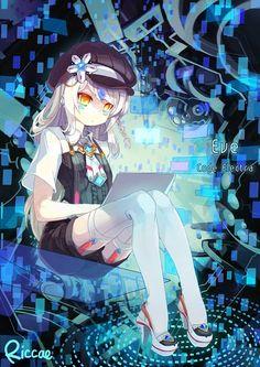 Tags: Anime, Riccae, Elsword, Eve (Elsword), Text: Mangaka Name