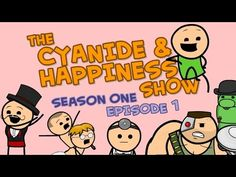 ‪A Day At The Beach - S1E1 - The Cyanide & Happiness Show‬‏ - YouTube