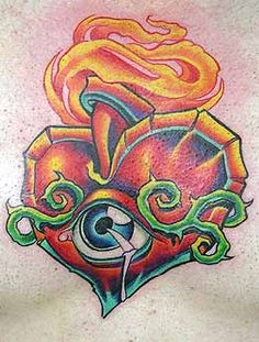 Tony Ciavarro - Sacred Heart Tattoo