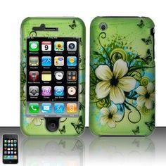 Hawaiian Flower Case Phone Cover Apple iPhone 3G 3GS - USD $ 10.95