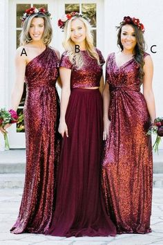 Burgundy A Line Brush Train Sparkle Cheap Bridesmaid Dresses,Wedding Party Dress B328 #longbridesmaiddress, #2017 bridesmaiddress, #weddingpartydress, #bohobridesmaiddress, #maxidress, #ChiffonBridesmaiddress, #ElegantBridesmaiddress, #CheapBridesmaiddress, #weddingideas