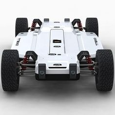 The TREXA development platform features adjustable suspension and open source electronics