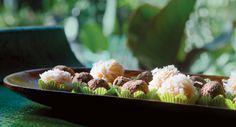 Beijinhos de Coco | Edible Feast via Edible South Florida #ediblekitchen