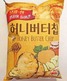This is what Honey Buddha Chips are a parody of, Honey Butter Chips