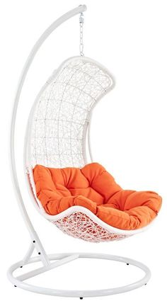 Hanging swing chair! Awesome... Want this! #product_design #furniture_design