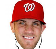 Washington Nationals Bryce Harper Bleacher Mask - $11.99