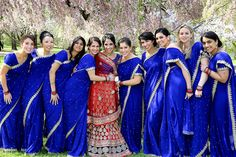 #Beautiful #Bollywood #Style #Indian #wedding Bridesmaid Saree, Indian Bridesmaids, Bridesmaid Outfit, Wedding Bridesmaids, Wedding Dresses, Wedding Outfits, Wedding Attire, Estilo India, Indian Wedding Pictures