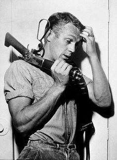 As a kid, loved watching this late-night, black & white, at my great-grandmothers. Just me & Steve Mcqueen >>Wanted: Dead or Alive (TV Series 1958–1961) :: A Civil War veteran with a sawed-off rifle as a holstered weapon makes a living as a bounty hunter in the Wild West of the 1870s.