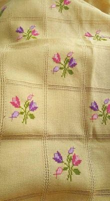 Wonderful Ribbon Embroidery Flowers by Hand Ideas. Enchanting Ribbon Embroidery Flowers by Hand Ideas. Cross Stitch Letters, Cross Stitch Borders, Cross Stitch Samplers, Cross Stitch Flowers, Modern Cross Stitch, Cross Stitch Designs, Cross Stitching, Stitch Patterns, Ribbon Embroidery