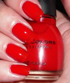 ONE OF MY FAVORITE RED COLORS! Sinful Colors - Gogo Girl