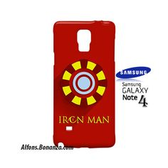 Iron Man Superhero Samsung Galaxy Note 4 Case
