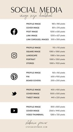 2019 Social Media Image Size Guide - Rissu Tutorial and Ideas Social Media Branding, Social Media Marketing Business, Facebook Marketing, Content Marketing, Marketing Plan, Marketing Strategies, Facebook Business, Marketing Branding, Marketing Software